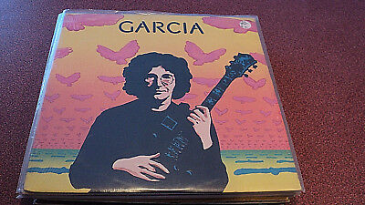 Jerry Garcia Garcia Lp Sealed Embossed Cover Round Records Rx102 Grateful Dead