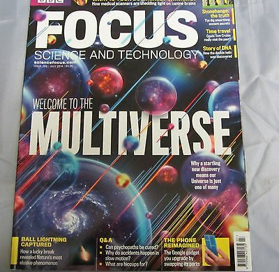 BBC FOCUS science & tech Mag issue 269 welcome to the multiverse