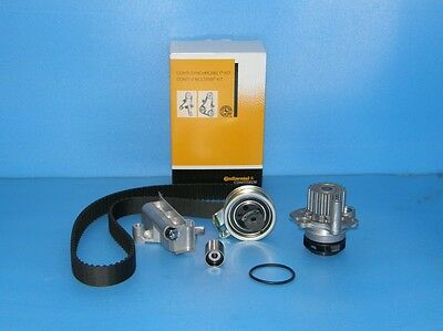 Timing Belt Kit ContiTech CT1028K2 Audi Ford Seat Skoda VW 1.9 TDI + Water Pump