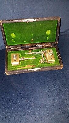 Antique Architecture Drafting Drawing tools Eugene Dietzgen Co 3 pieces + case