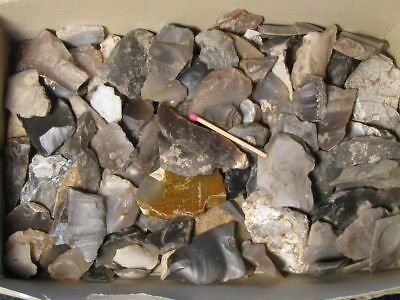7200Y.o: Great Collection >100 Flint Artifacts European Linear Pottery Culture