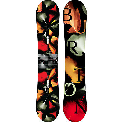 Burton Déjà Vu Flying V Rocker DeJaVu Women's Snowboard Freestyle 2018 NEW