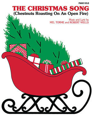 The Christmas Song Chestnuts Roasting Piano Solo Intermediate Sheet Music NEW