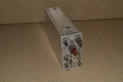 Tektronix Am502 Differential Amplifier Plug In (Tp182)