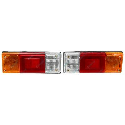 Ford Courier Mazda Bravo Tray Back Ute Tail Lights Pair