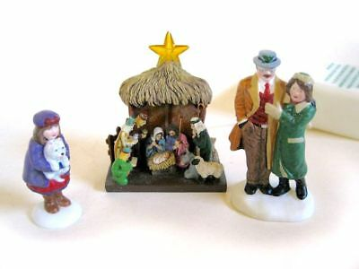 Dept 56 Christmas In The City - Visiting The Nativity 58956 Star Lights Wbx Mint