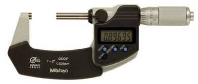 "Brand New Mitutoyo 293-336-30 1-2"" Digital Micrometer, Ip65, .00005"""