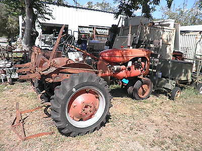 TRACTOR  Allis Chalmers MODEL C IMPLIMENTS MOWER PLOW PLANTER PTO USA