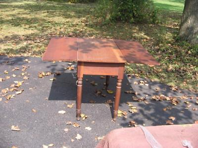 Antique Cherry Drop Leaf Table Mid 1800's