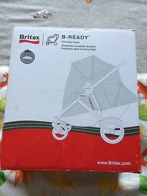 Stroller Rain Cover Britax B Ready Top Seat Rain Cover
