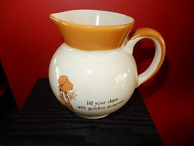 Vintage Holly Hobbie Country Living Large Milk Jug