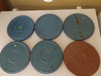 Six 1957/58 Color 8mm home movies. Vacation, airports, Christmas, autos suburbs.