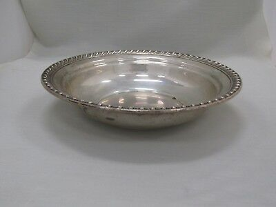 "Wallace Sterling Silver 10"" Serving Bowl 307 Grams"