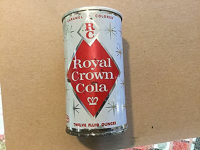 Lot 9 # 1170 Royal Crown Cola Pre Zip Code Steel Side Aluminum Top Hard One To