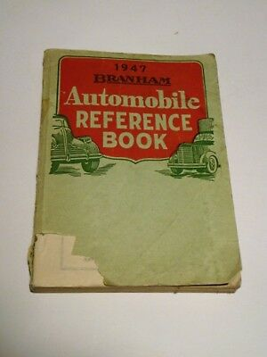1947 Branham Automobile Reference Book Guide-Passenger Cars & Trucks-500 Pages