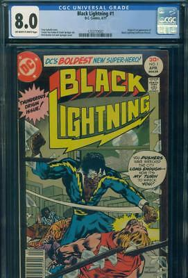 BLACK LIGHTNING #1 CGC 8.0 VF VERY FINE Origin & 1st Appearance DC Comics TV KEY
