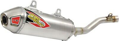 NEW PRO CIRCUIT T-6 Stainless Slip-On Silencer w/Removable