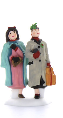 Dept 56 Christmas In The City - Let's Go Shopping In The City 58899 Two Women