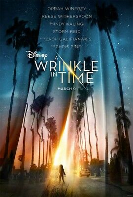 A WRINKLE IN TIME great original 27x40 D/S movie poster LAST ONE (031)