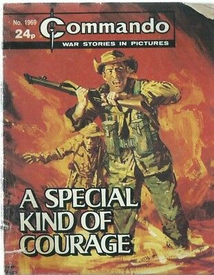 A Special Kind Of Courage,commando War Stories In Pictures,no.1969,comic,1986