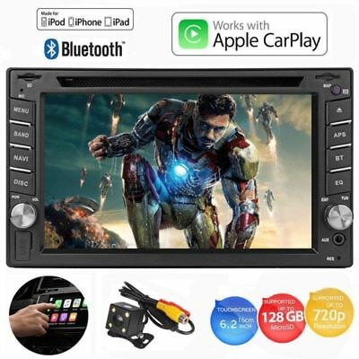 """6.2"""" Car Van Radio Stereo GPS media player Touch Screen Double Din iPhone"""