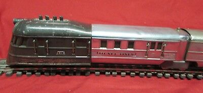 """Lionel Pre War Flying Yankee # 616 """"O"""" Gauge Complete Set Made in The USA"""
