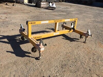 UH-60 Helicopter Maintenance Cart w/ Max. Weight of 10,000 Lbs. -  6x4x2.25 ft.