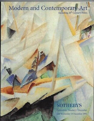 Sotheby's Amsterdam, Modern and Contemporary Art, 17 & 18 December 1996