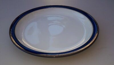 "Denby Imperial Blue Dinner Plate, 10.5"" or 264mm diameter. Used, good condition"