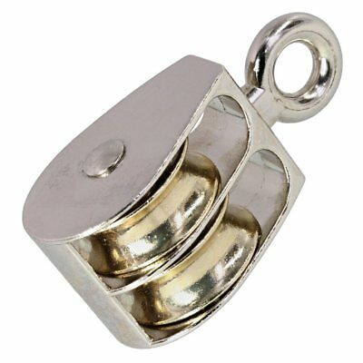 25mm Zinc Die Cast Double Awning  Pulley Block