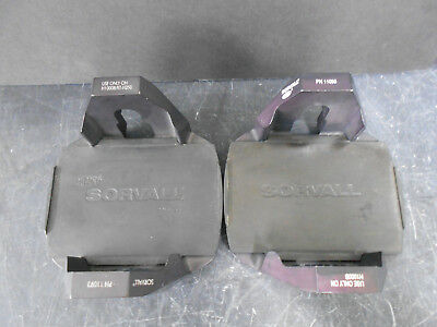 Lot Of 2 Sorvall 11093 Centrifuge Microplate Carrier W/ Sorvall 11785Grip