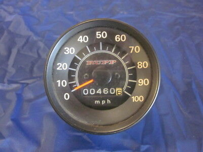 Rupp Nitro Snowmobile Speedometer showing 460 miles Works Great
