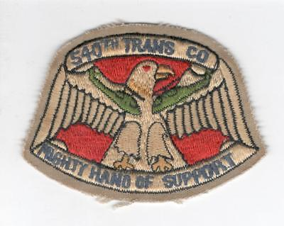 R229 540th Transportation Company Patch Win 10 Get Free US Shipping