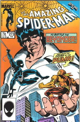 the Amazing Spider-Man Comic Book #273 Marvel Comics 1986 VERY FINE/NEAR MINT