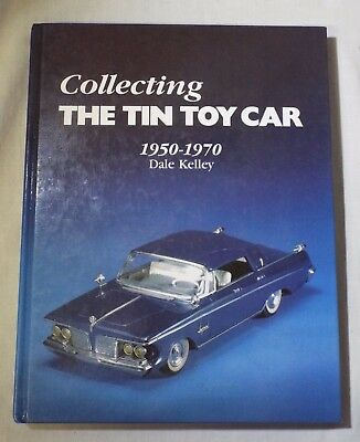 COLLECTING THE TIN TOY CAR 1950-1970 Reference Identification Guide BOOK Kelley