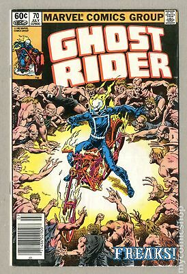 Ghost Rider (1st Series) Mark Jewelers #70MJ 1982 VG/FN 5.0 Low Grade