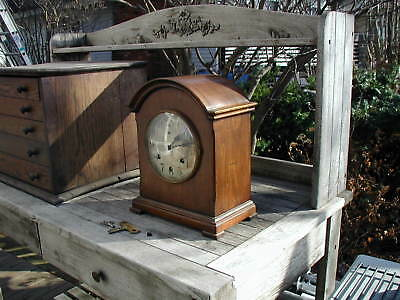 Antique Clock WATERBURY Clock with Westminster Chime, Restore