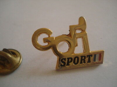 PINS RARE VINTAGE GOFI SPORT FRANCE AUDINCOURT MODE FASHION wxc 24
