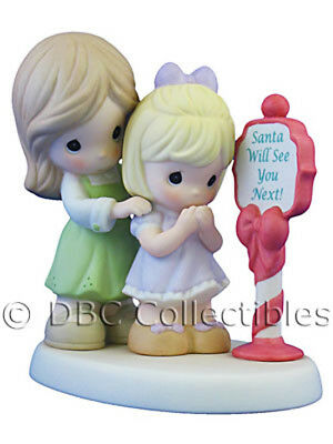 Precious Moments 'All Of Your Holiday Wishes Come True' Christmas Figure 810045