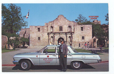 1962 CHEVROLET BISCAYNE Red Ball TAXI CAB  at THE ALAMO San Antonio TX Great!