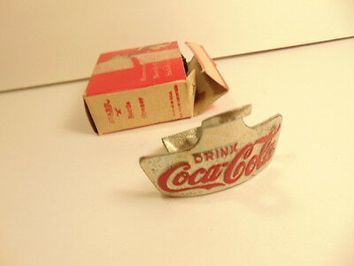 Vintage Starr brand wall hung CocaCola bottle opener in original box
