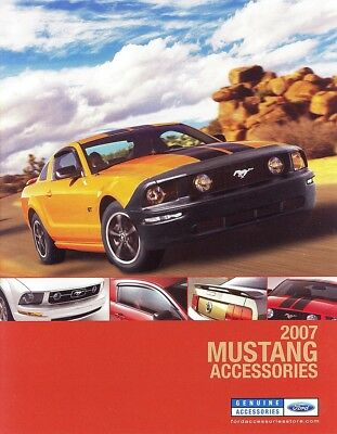 2007 Ford Mustang V6 GT Shelby Accessories Brochure - Mint!