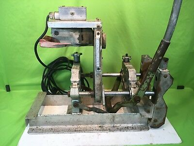 "McElroy Pipe Fusion Poly Welder Machine 1"" To 4"" 400101 w/ Electric FACER - NR!"