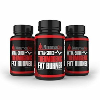 Ultra Shred Thermogenic Fat Burner - to Boost Calorie Burning Capacity 60 Caps