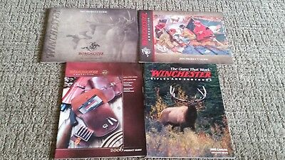 Lot of 4 Original  Winchester Catalogs 2000's New Old Stock