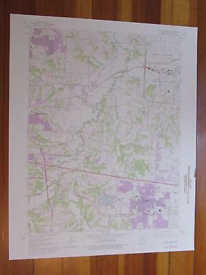 Blue Springs Missouri 1976 Original Vintage USGS Topo Map