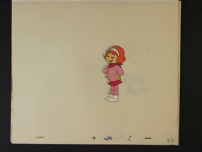 LOT: TEN Circa 1990 A PUP NAMED SCOOBY-DOO PRODUCTION CELS~DAPHNE~VELMA~FRED