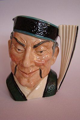 "Royal Doulton The Mikado Character Jug 6.5"" Large Made in England 1958 Toby Jug"