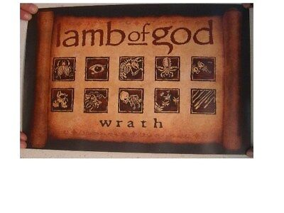lamb of god Poster  Wrath  Two Sided