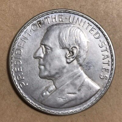 Philippines 1920 Wilson Silver So-Called Dollar Medal, Manila Mint Hk 449 #1001
